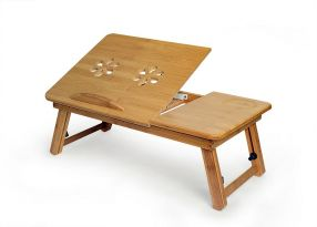 Deluxe Bamboo Laptop/Reading Table