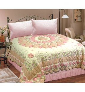 Puffy Patchwork Quilt - Single
