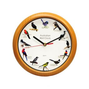 Australian Bird Sounds Clock