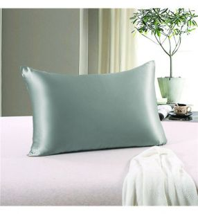Silky Pillow Cases S/2 - Charcoal