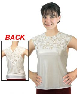 Reversible Lace Cami (White S / 8-10)